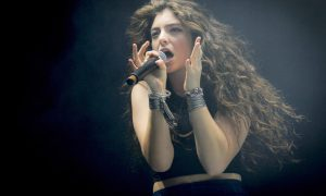 MONTREAL, QC - AUGUST 03:  Lorde performs on Day 3 of the Osheaga Music and Art Festival on August 3, 2014 in Montreal, Canada.  (Photo by Mark Horton/WireImage)