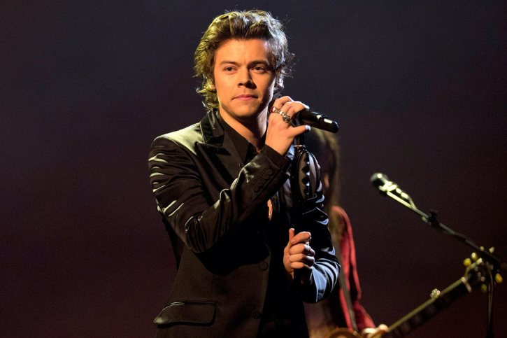 Graham Norton Show - London. Harry Styles preforming during the filming of the Graham Norton Show at The London Studios, to be aired on BBC One on Friday. Picture date: Thursday April 20, 2017. Photo credit should read: PA Images on behalf of So TV. URN:30999275