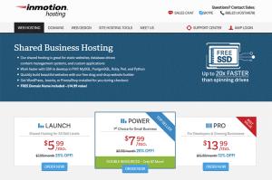 InMotion Shared Hosting