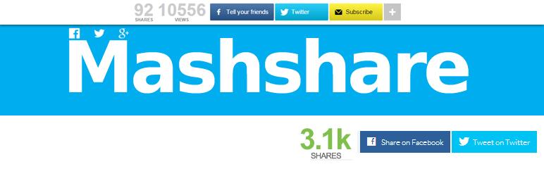 20 Best Social Media Plugins For WordPress Mashshare