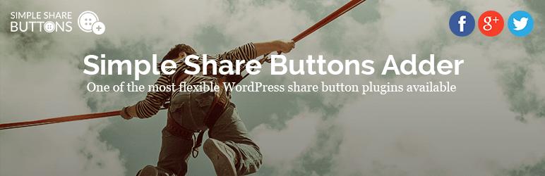 20 Best Social Media Plugins For WordPress Simple Share Buttons Adder