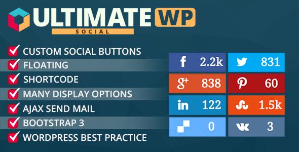 20 Best Social Media Plugins For WordPress Ultimate Social Deux