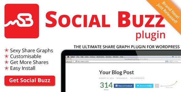 20 Best Social Media Plugins For WordPress social buzz