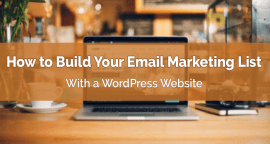 How to Build Your Email List with a WordPress Blog?