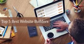 Top 5 Best Website Builders