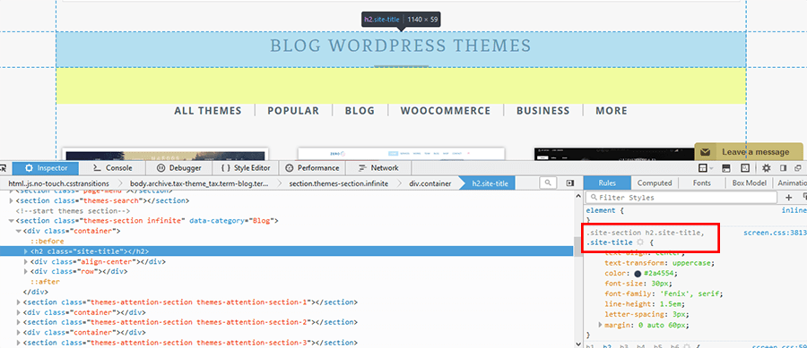 Inspect Element Right Click How To Enhance Visibility Of Your WordPress Site Using Custom Fonts