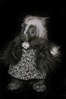 Skunk Girl Doll
