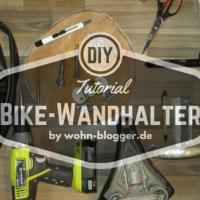 So baust du dir einen Bike-Wandhalter und eine Garderobe gleich mit dazu.
