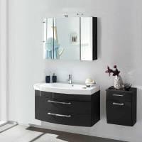 Badezimmer Set mit Waschtisch 100cm breit Boisan | Wohnen.de