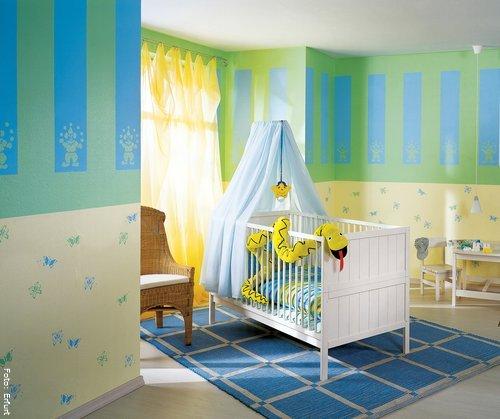 √ Tapeten Kinderzimmer Baby. trendige tapeten ideen f r