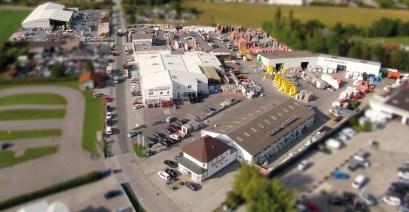 Mit einer Lagerfläche von 65.000 m2 hat die Zentrale in Neunkirchen das größte Baustoff- und Trockenbau-lager in Ostösterreich.