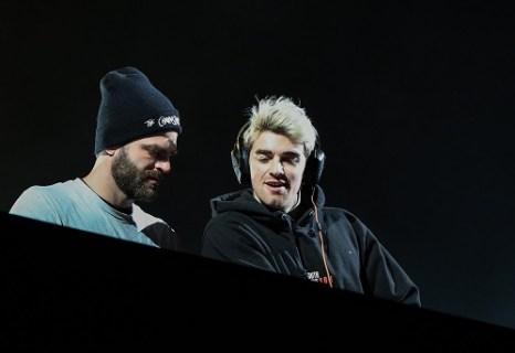 Snow Air Konzert am Hauser Kaibling, The Chainsmokers, mit den beiden DJs Andrew Taggart und Alex Pall. Fotocredit: Martin Huber