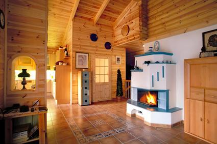 Ein Wohnzimmer im Landhausstil sorgt für Gemütlichkeit und Wärme - landhausstil rustikal wohnzimmer