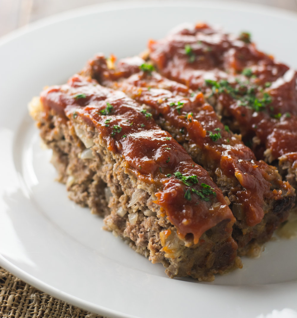 Super Duper Easy Meatloaf