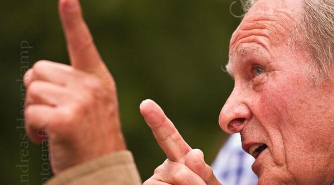 Dem Wolbecker Fußball verbunden: Rudi Kuschat verstorben