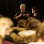 Misereor-Gast René Ivo Gonçalves besucht Wolbecker Gymnasiasten