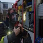 Feuerwehr übt im Achatiushaus in Wolbeck
