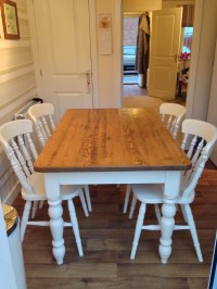 Up-cycled Table & Chairs - Wolds Furniture Company