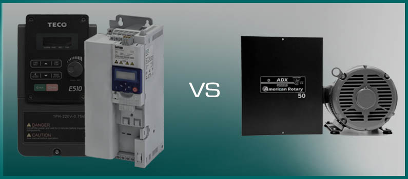 Phase Converter vs VFDs, which to use? Wolf Automation