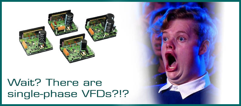 Wait? There are Single-Phase VFDs? Wolf Automation