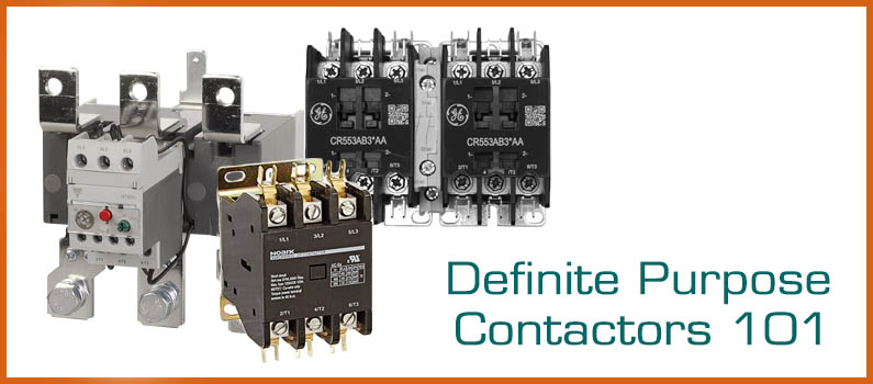 All About Definite Purpose Contactors Wolf Automation