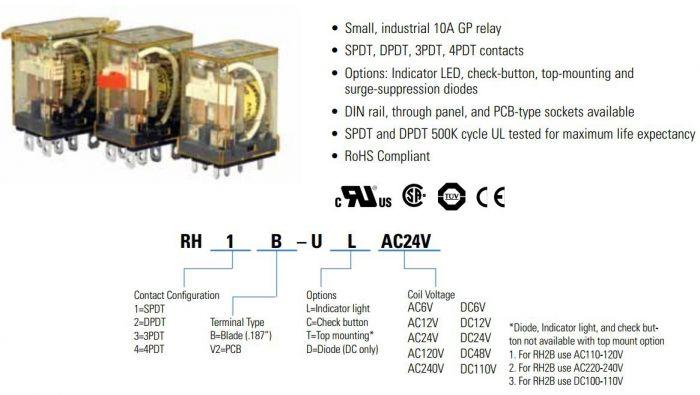 Idec Rh2b Ul Wiring Diagram Wiring Diagram Library