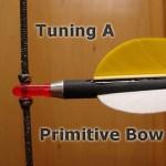 Nocking A Primitive Bow