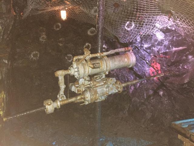 Mine Drill