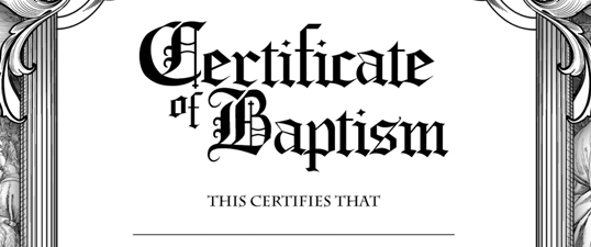 baptism certificate template download - Eczasolinf - sample baptism certificate template