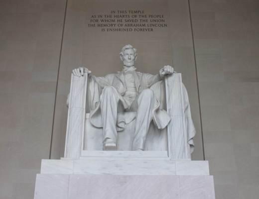 Mémoriaux à Washington DC - Lincoln memorial