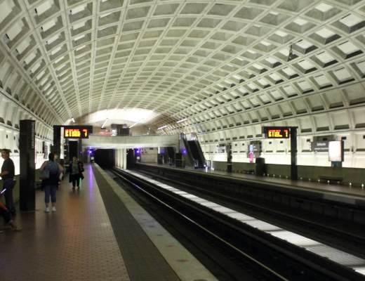 Métro à Washington DC