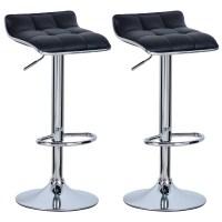 Set of 2 Bar Stools Barstool Breakfast Kitchen Stool Chair ...