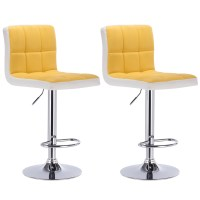 Bar Stools Swivel Kitchen Breakfast Bar Stool Set of 2
