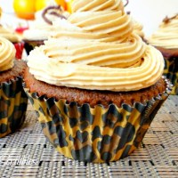 Mocha Cupcakes with Espresso Buttercream