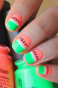 Eye-Catching Summer Neon Nail Designs