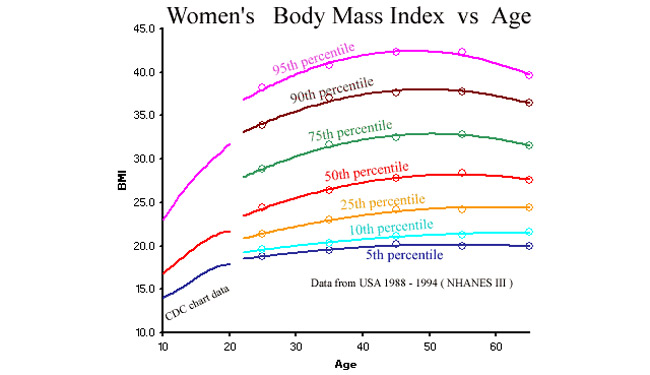 BMI For Women - Women Fitness