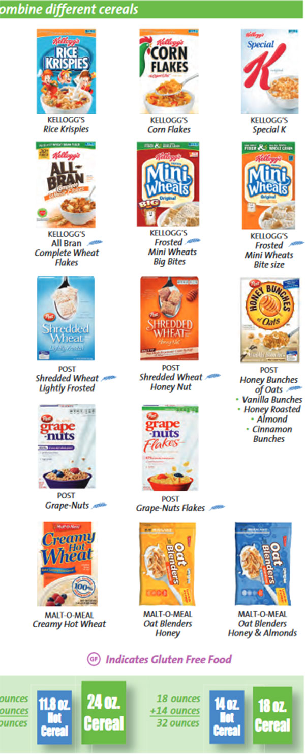 Fullsize Of Gluten Free Cereal List