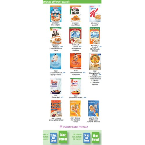 Medium Crop Of Gluten Free Cereal List