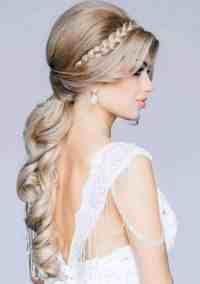 bridal hairstyles for long hair 2015 - Womenstyle.com