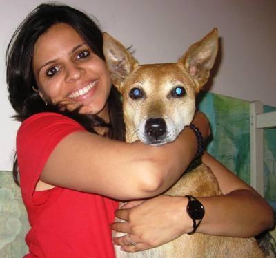 Mansi Jaysal with Sam