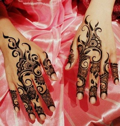 Cute Henna Wallpapers 16 Most Beautiful And Different Styles Of Back Mehendi Designs