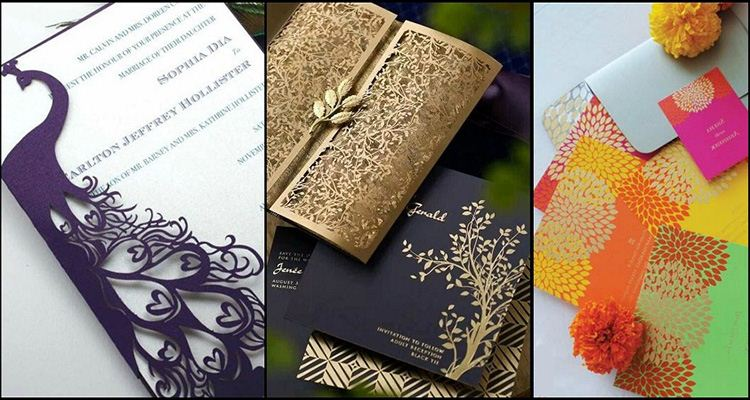 Unique And Creative Wedding Card Designs Of Every Style - wedding card designing