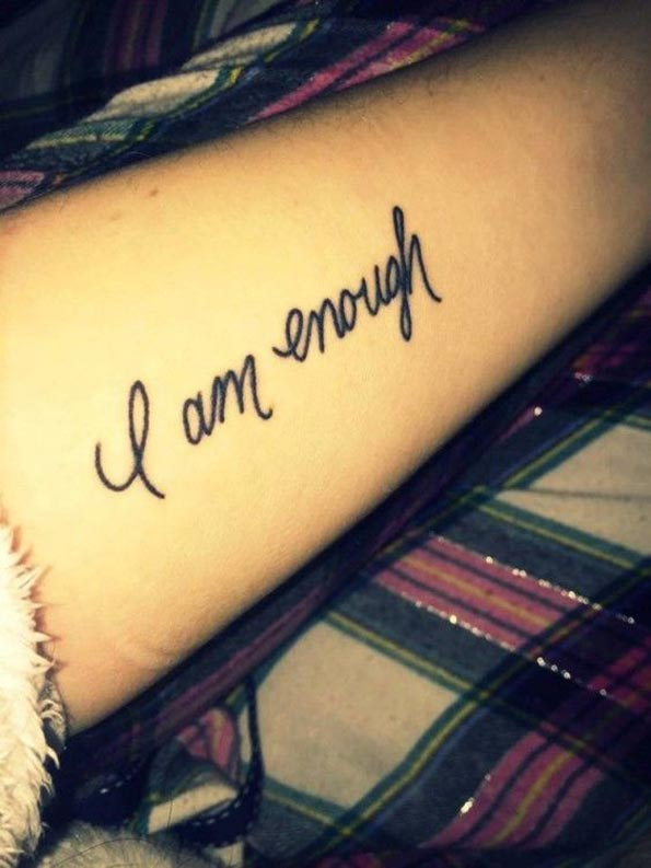 Short Cool Quotes Wallpaper 25 Badass Feminist Tattoos To Remind You The Girl Power