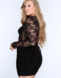 Plus Size Club Dresses With Sleeves | www.pixshark.com ...