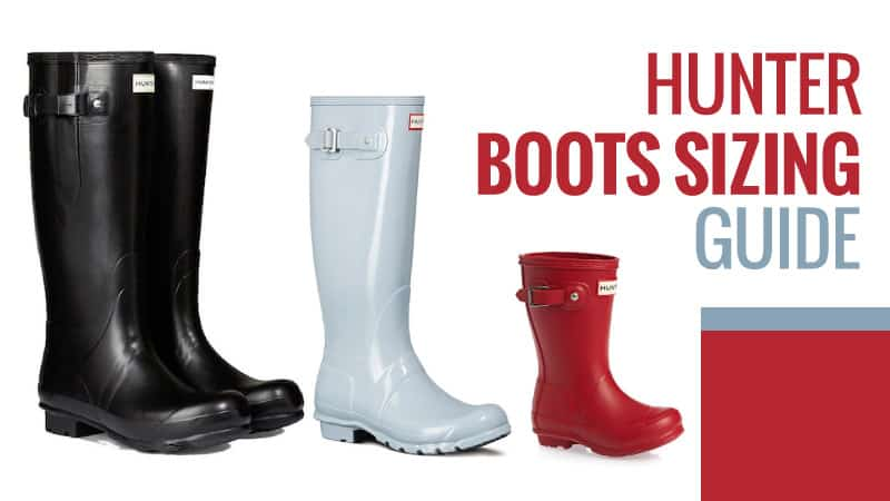 Hunter Boots Sizing Guide Do They Come Up Small August