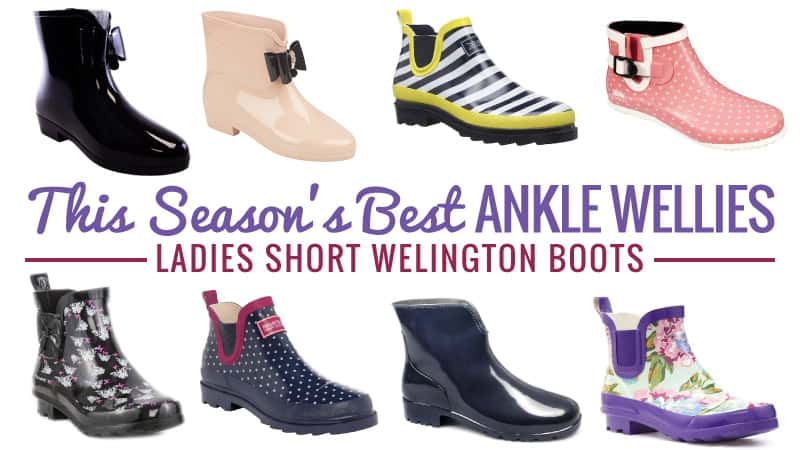 This Seasons Best Ankle Wellies Ladies Short Wellington