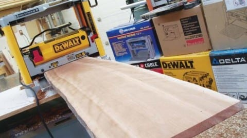 How To Use A Bench-Top Planer | Wonderful Woodworking