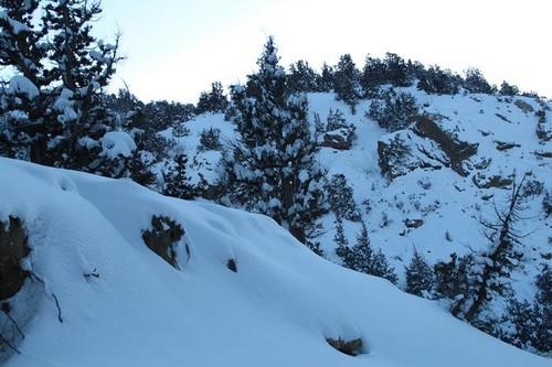 snowfall ziarat