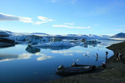 Ισλανδία Crystal Lake