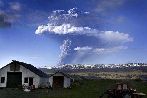 Ηφαίστειο στην Ισλανδία